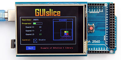 How to create an Arduino Touchscreen GUI - ImpulseAdventure
