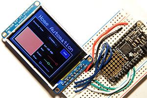 How to create an Arduino Touchscreen GUI - ImpulseAdventure