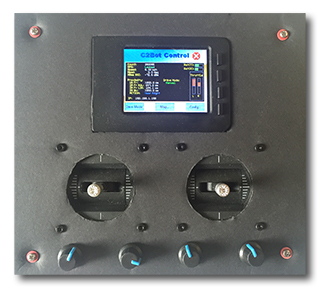 Custom Telemetry Robot Controller